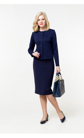 Жакет темно-синий