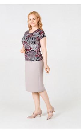ad581c8c30b Юбки миди больших размеров для женщин купить или заказать недорого в ...