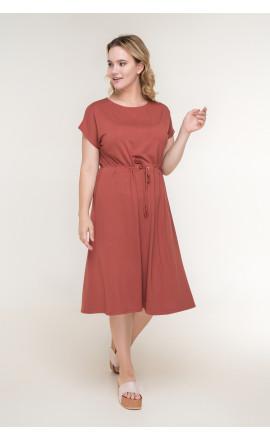 Платье кирпичное